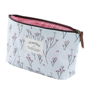 Vintage Flower Floral Pencil Pen bag Cosmetic Makeup/Storage bag Case Purse Worldwide Store