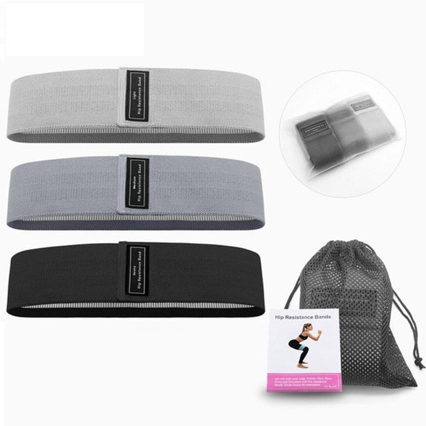 Resistance Bands 3-Piece Set Fitness Rubber Band