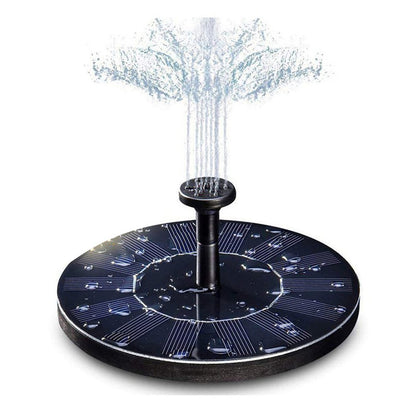 Garden Decoration Water Floating Solar Power Fountain Panel Kit  Water Pump For Pool Pond Garden Solar sprinkler