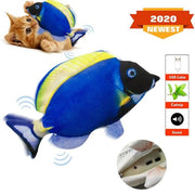 Electric Moving Fish Cat Toy,dansende Vis Voor Kat ,usb Cat Toy, Dancing Fish Cat Toy, Funny Interactive Pets Pillow Kitty