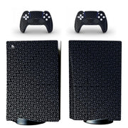 New PS5 Standard Disc Edition Skin Sticker Decal Cover for PlayStation 5 Console and 2 Controllers PS5 Skin Sticker Vinyl