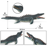 1Pcs Dinosaur Realistic Figures Lifelike Mosasaurus Dinosaur Model Toy Figures For Collector Decoration Party Favor Kid Toy Gift
