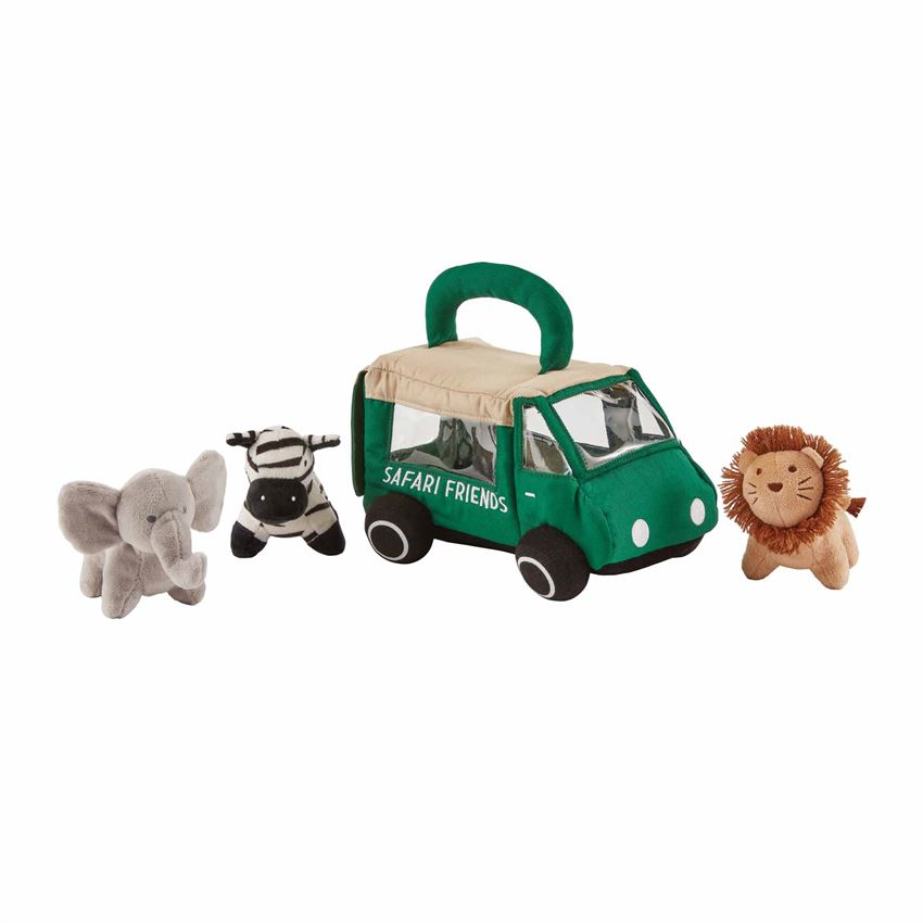 Safari Friends Plush Set
