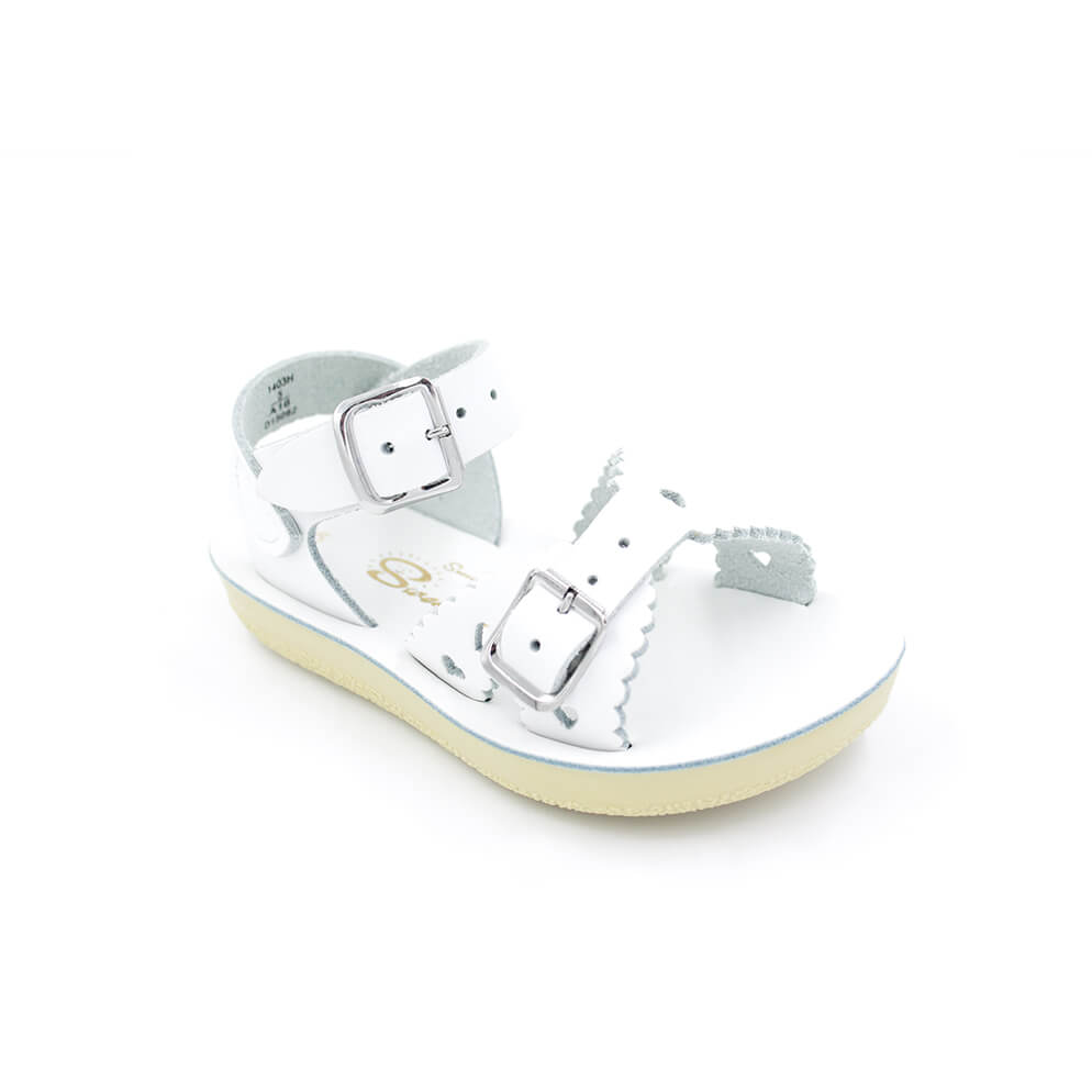 White Sweetheart Sandal