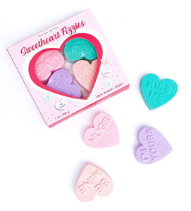 Valentines Sweetheart Bath Fizzies Gift Set