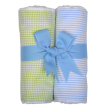 Load image into Gallery viewer, Sets of 2 Fabric Burps - Assorted