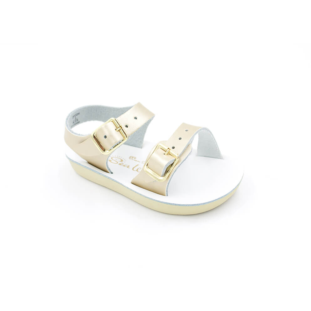 Gold Sea Wee Sandals
