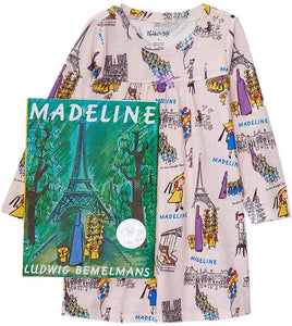 Madeline Gown Books To Bed Set