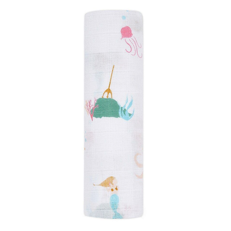 Classic Swaddle - Salty Kisses Mermaid