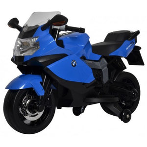 Blue BMW 12V Motorcycle