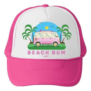 Beach Bum Trucker Cap