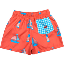 Load image into Gallery viewer, Boat Swim Trunks