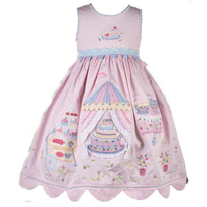 Pink Garden Tea Party Dress