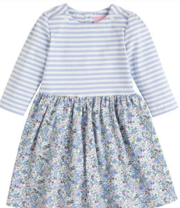 Kensington Floral Rosie Dress - Blue