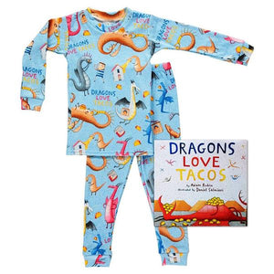 Dragons Love Tacos Books To Bed Set