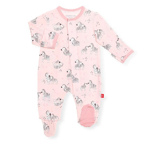 Little One Modal Footie Pink