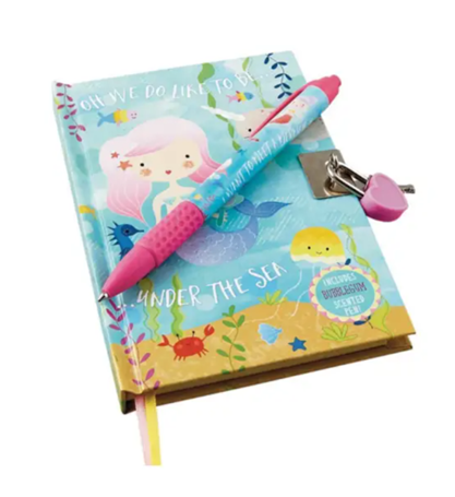 Mermaid Diary With Pen