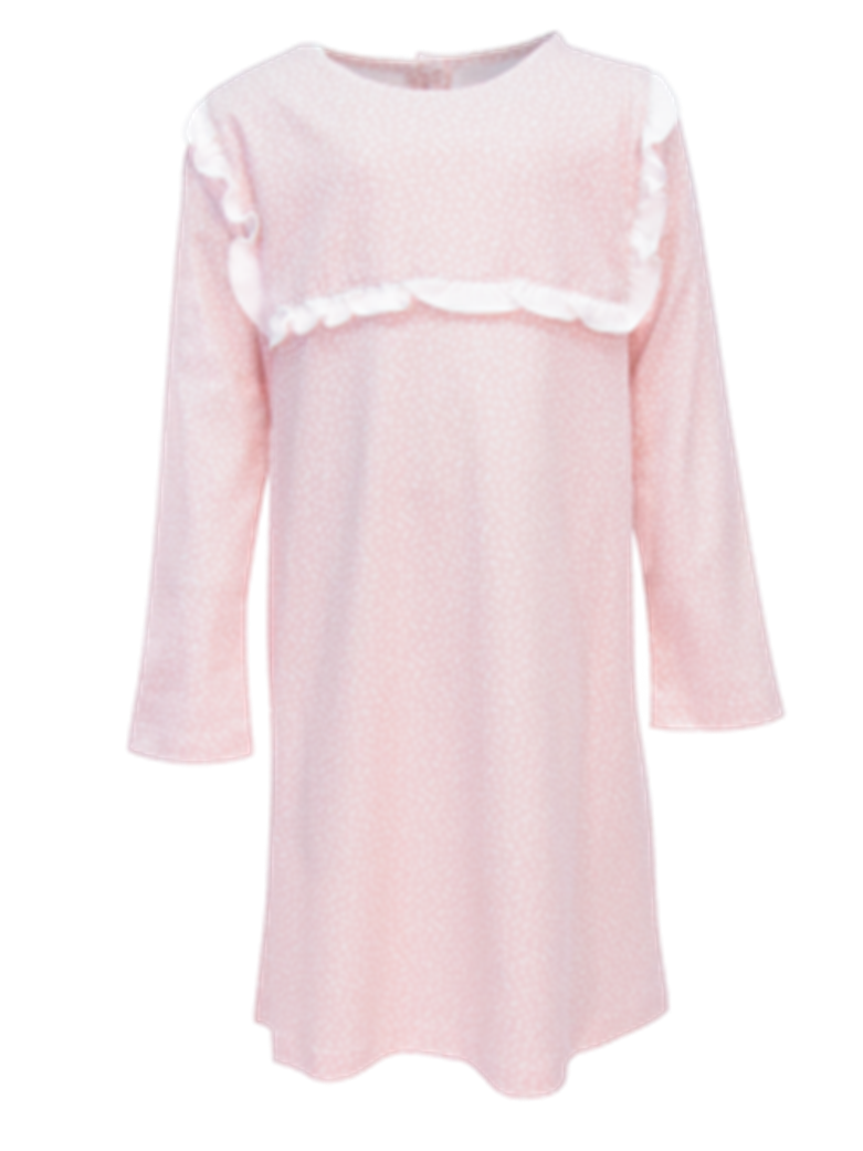 Starlight Pink Long Sleeve Claire Dress