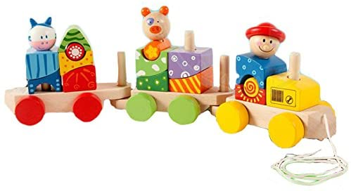 Animal Block Train