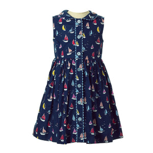 Sailboat Dress With Bloomer