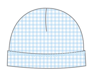 Mia And Ollie's Classic Blue Smocked Hat