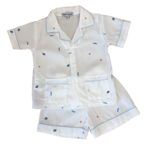 Sealife Short Pajama Set