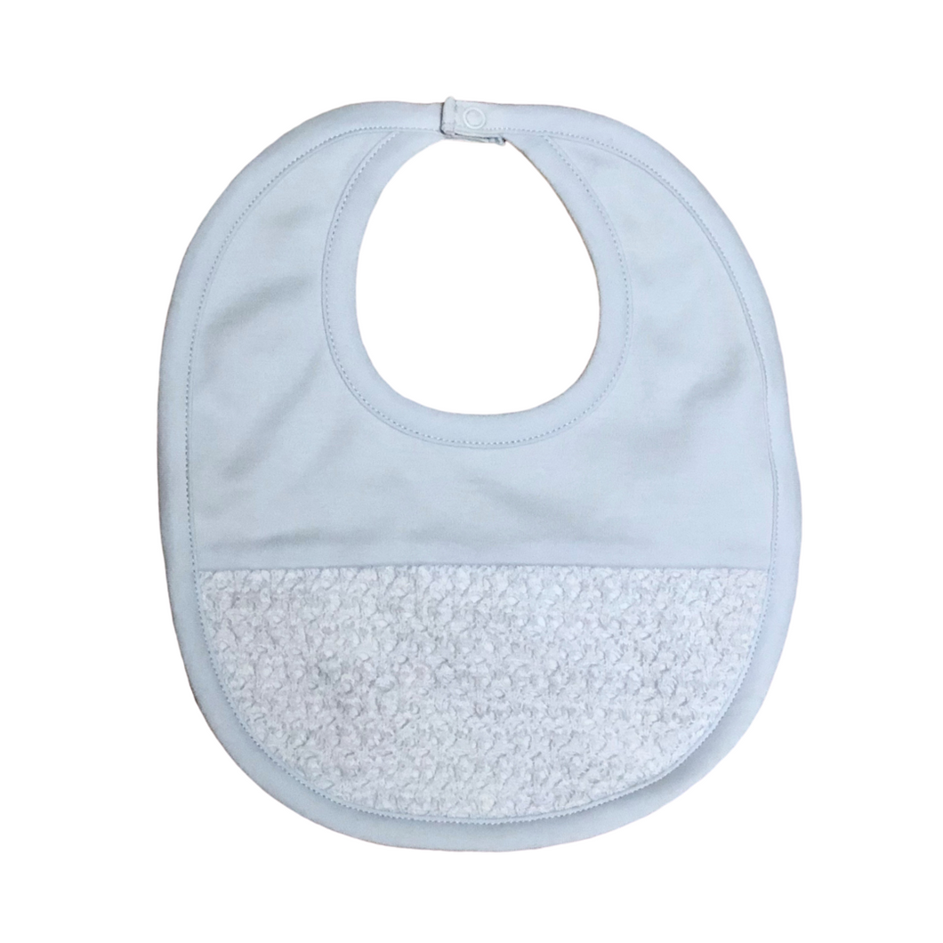 Touch Of Elegance Blue Bib