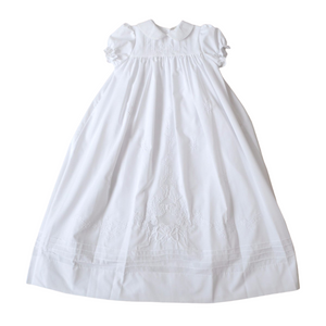 Girls Christening Gown With Slip
