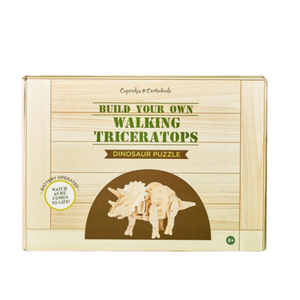 Build Your Own Walking Triceratops Puzzle