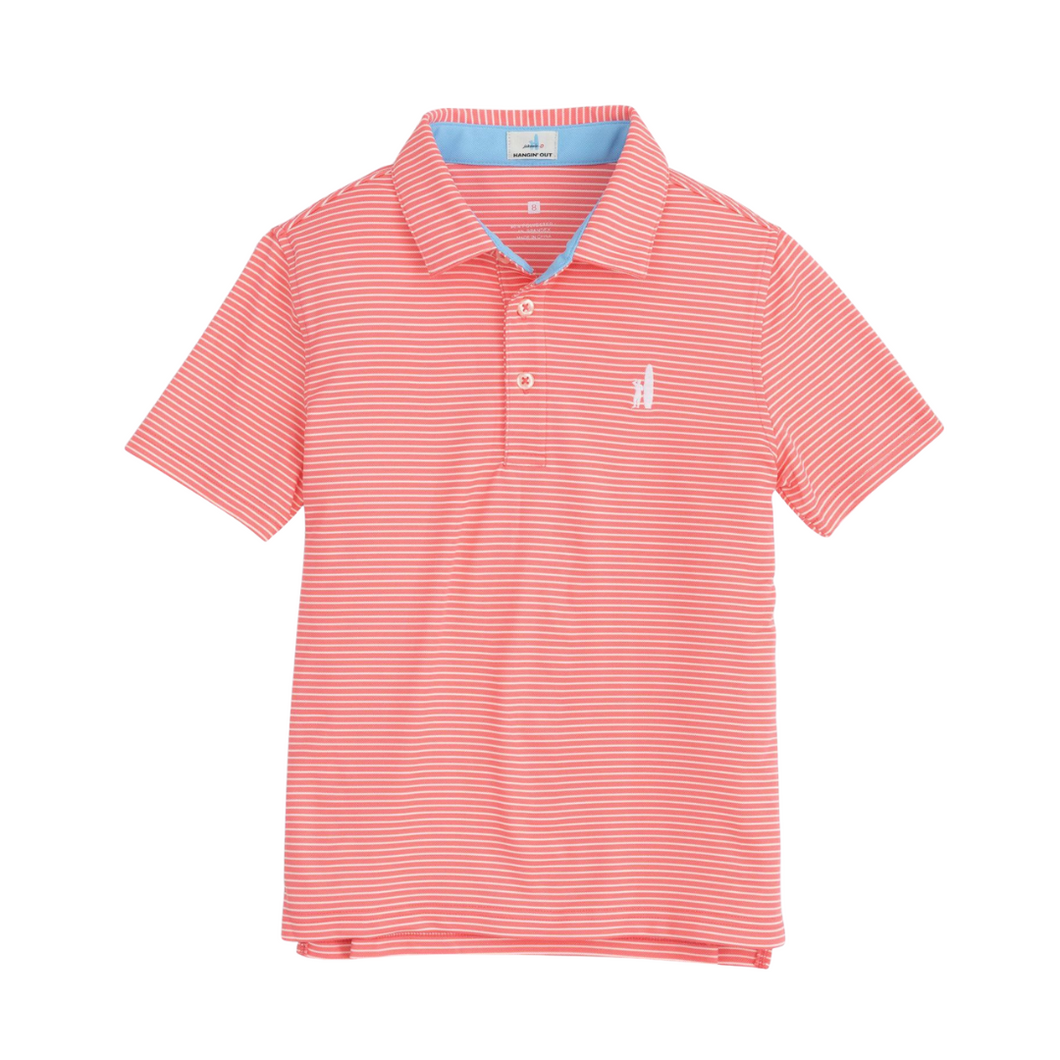 Merrins Coral Reef Performance Polo