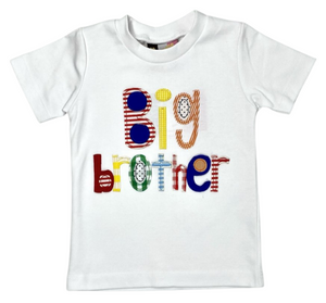 Big Brother Applique T-Shirt