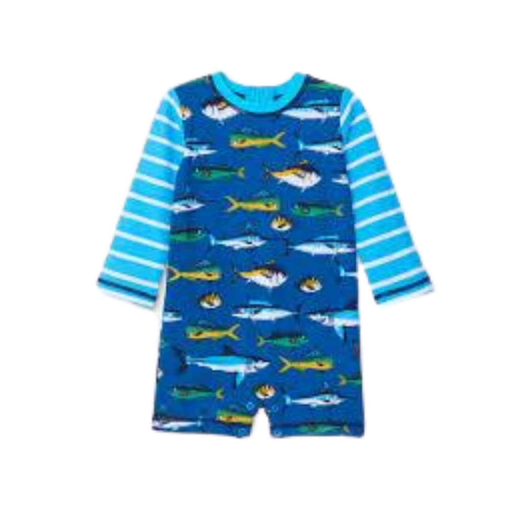 Game Fish One-Piece Rashguard