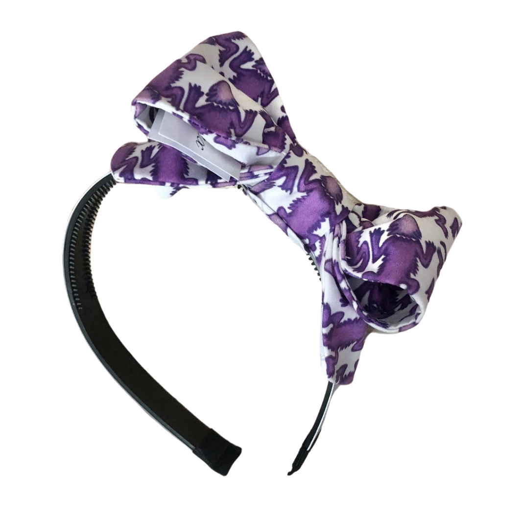 Horned Frogs College Headband