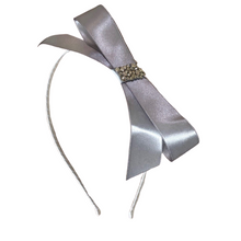 Load image into Gallery viewer, Satin Bow Headband