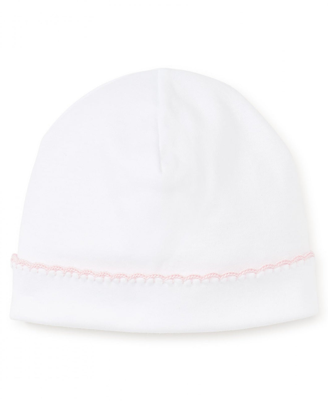 New Premier Basics Hat - White with Pink