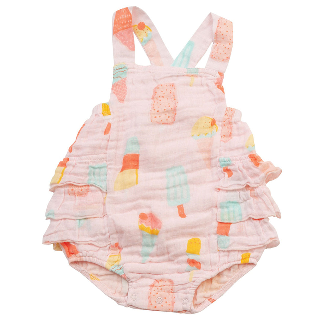 Cool Sweets Ruffle Sunsuit