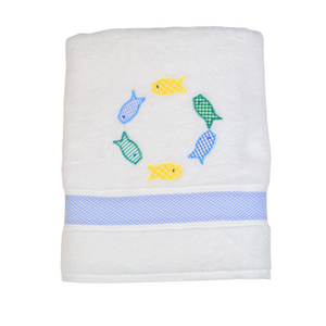 Boy Fish Towel