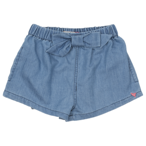 Chambray Camp Bow Short