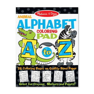 Alphabet Coloring Pad