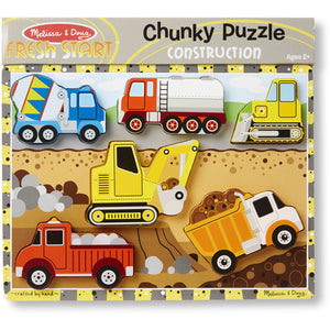 Chunky Construction Puzzle