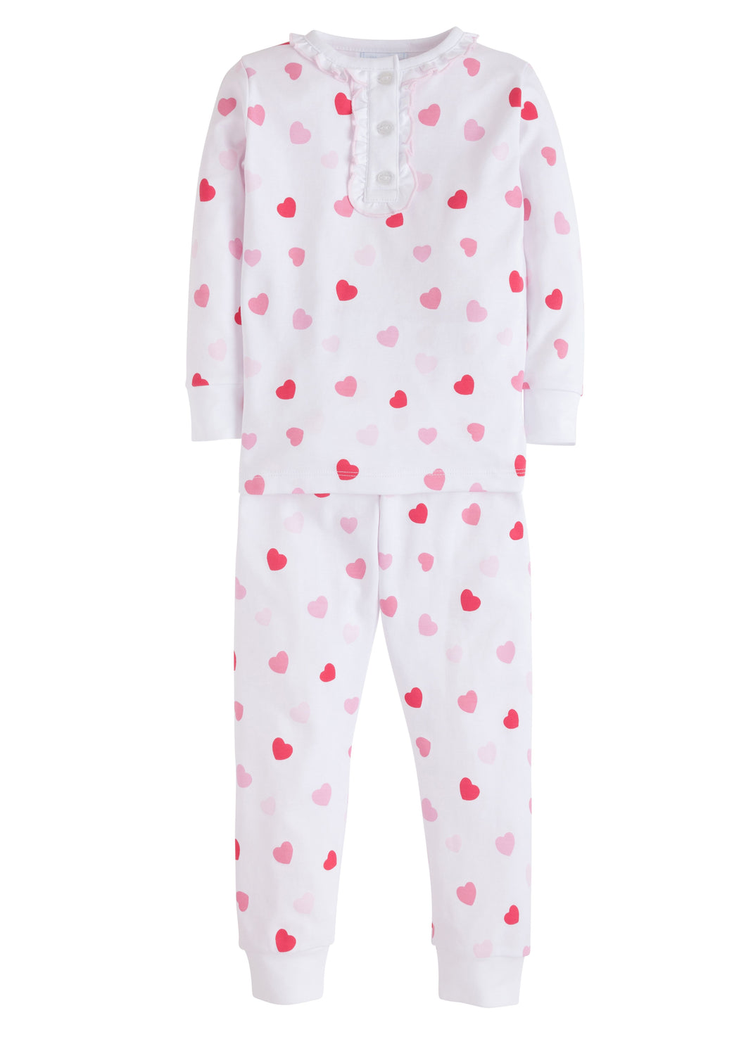 Hearts Printed Pajamas