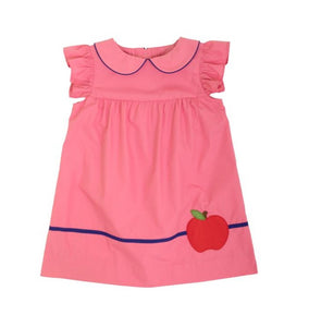 Angel Sleeve Holly Day Dress Apple