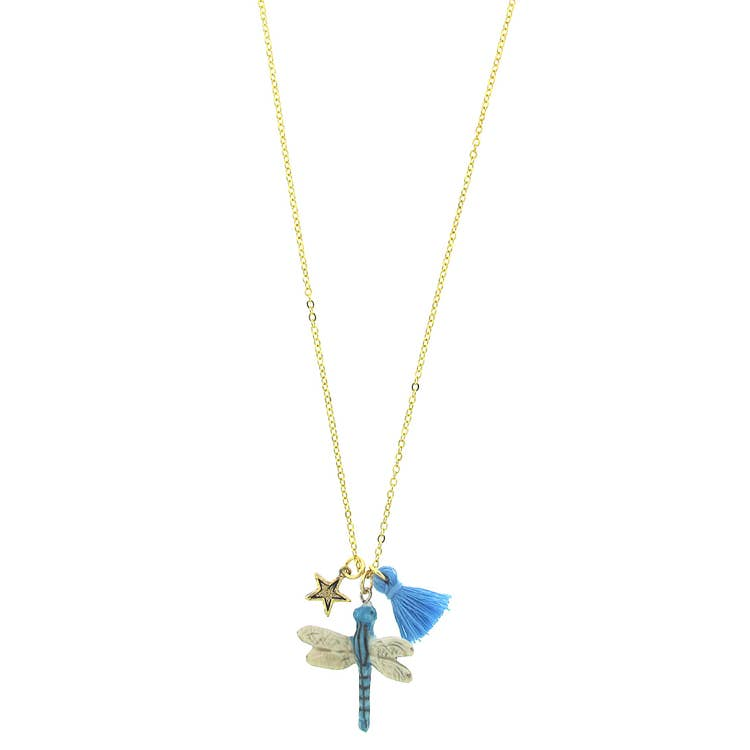 Lil' Critters Necklace - Dragonfly
