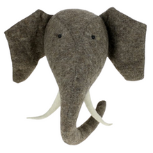 Load image into Gallery viewer, Elephant Head with Tusks