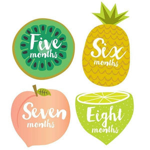 Little Tutti Frutti Monthly Stickers