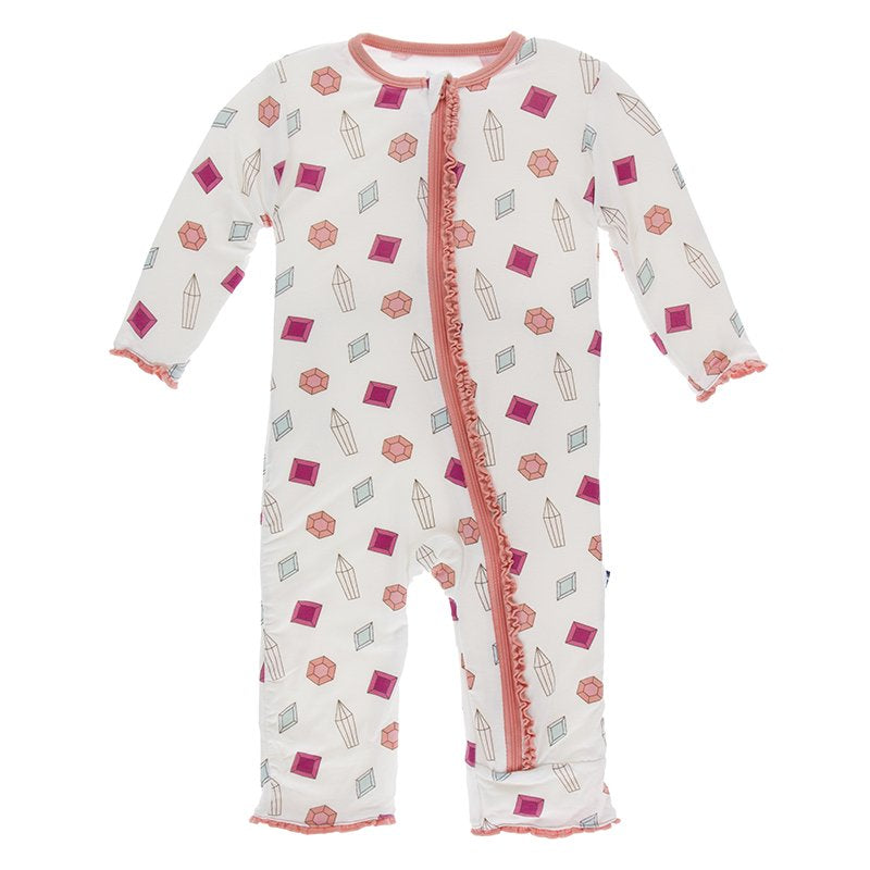 Gems Muffin Rufle Coverall/Zip