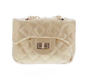 Diamond Quilted Cross Body Bag