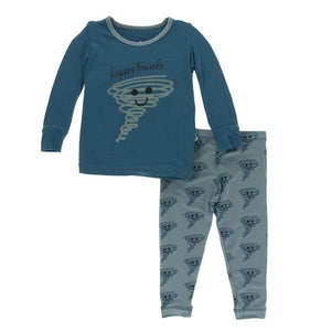 Happy Tornado Long Sleeve PJ Set