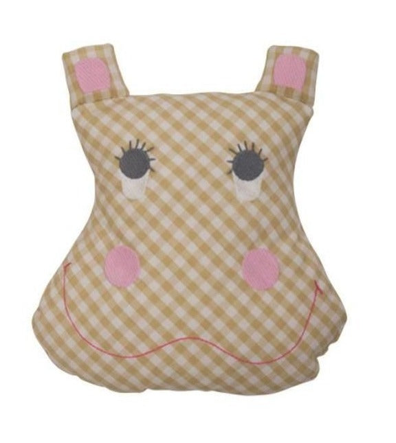 Harrietta Hippo Tooth Fairy Pillow
