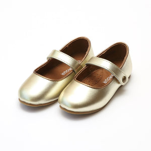 Gold L'amour Classic Strap Flat